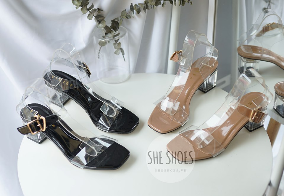 Giày Sandal quai trong VIMILY